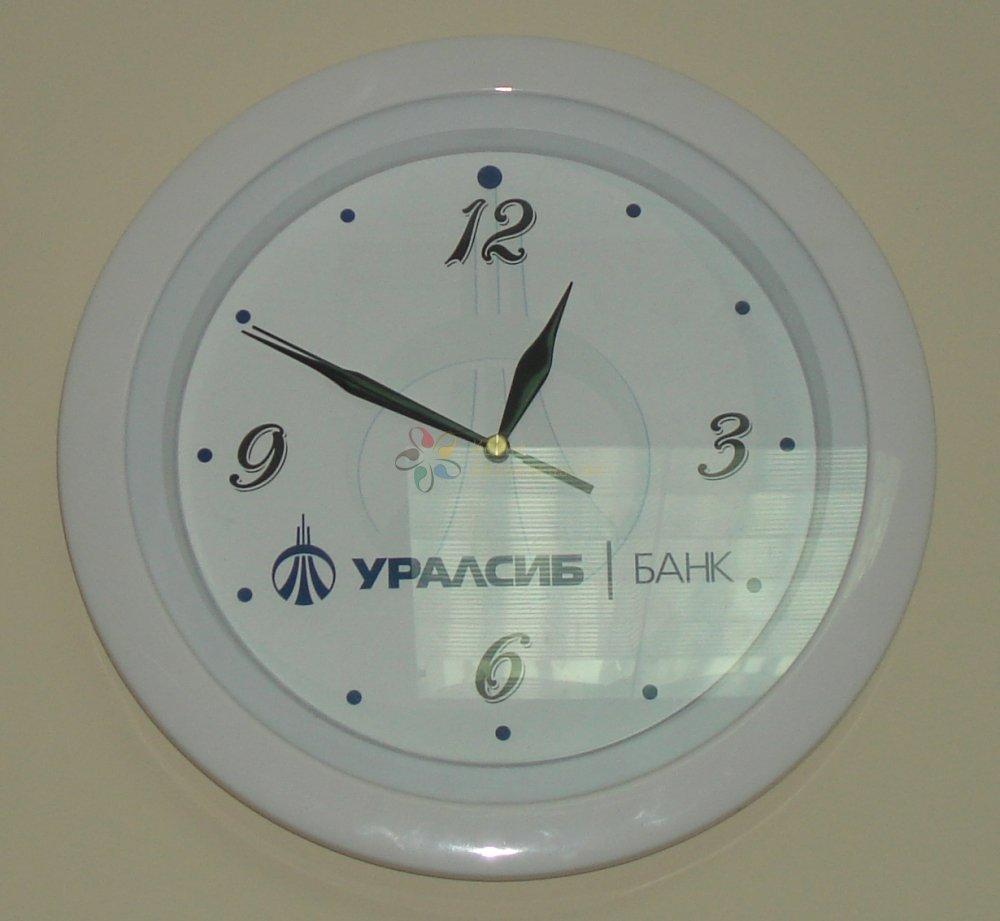 Настенные часы банка